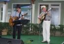 Roddy Clenaghan és Ian Anderson a Tinódi vendéglőben