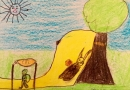 Kedvenc mesém – Gyerekrajzkiállítás a könyvtárban