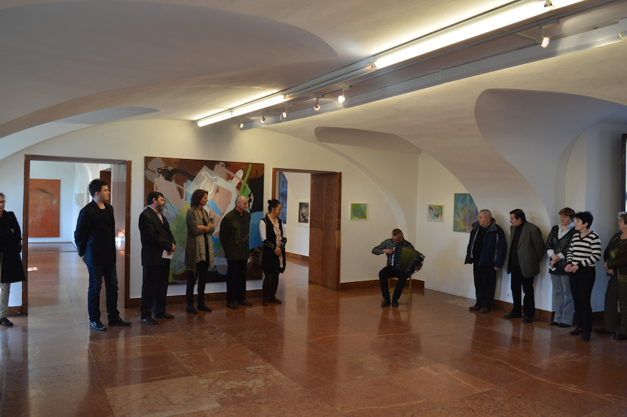 Renate RosenbauerVernissage8.3.2015Sarvar