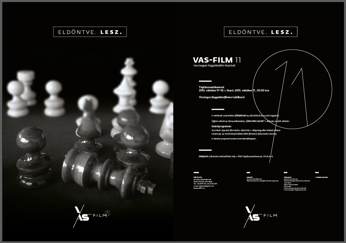 VAS-FILM 11 egybe plaki